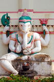 Ancient statue of Ganesha Stock Photos