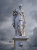 Ancient statue in Lucca. Tuscany, Italy Stock Photos