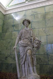 Ancient statue of Melpomene Stock Photography