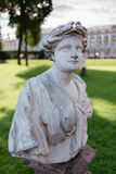 Ancient statue in the park Stock Photography