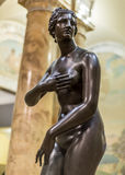 Ancient Statue of Roman Woman Royalty Free Stock Image