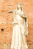 Ancient statue in Rome, Italy Stock Images