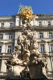 Ancient Statue in Vienna Stock Photography