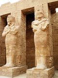 Ancient statues Royalty Free Stock Photos