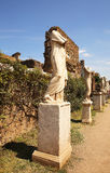 Ancient statues in Roman Forum. Rome Stock Image