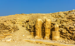 Ancient statues at Saqqara Royalty Free Stock Photo