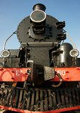 Ancient steam locomotive Royalty Free Stock Images