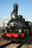 Ancient steam locomotive Stock Images