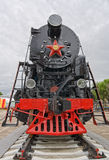 Ancient steam locomotive Royalty Free Stock Image
