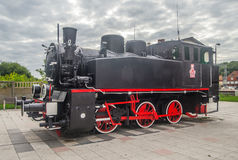 Ancient steam locomotive Royalty Free Stock Photo