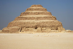 Ancient Stepped Pyramid Royalty Free Stock Photos