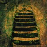 Ancient Steps stock illustration