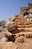 Ancient steps. Stock Image