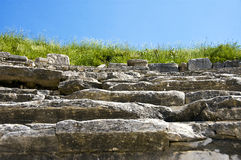 Ancient Steps Royalty Free Stock Image