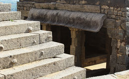 Ancient steps Royalty Free Stock Photo