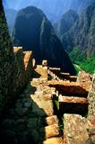 Ancient Steps Of Machu Picchu royalty free stock image