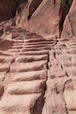 Ancient steps,Petra Royalty Free Stock Image