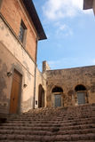 Ancient Steps, Portoferraio, Elba Island Royalty Free Stock Images