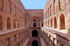 Ancient Stepwell Royalty Free Stock Image