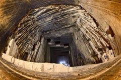 Ancient stepwell Navgan Kuvo Royalty Free Stock Image