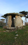 Ancient stone age monument Anglesey, Wales Stock Photo