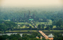 Ancient stone  of angkor wat, Angkor, Cambodia Royalty Free Stock Photography