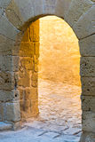The ancient stone arch. Stock Photography