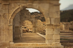 Ancient stone arch in Lycia Stock Photos