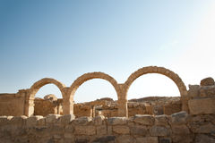 Ancient Stone Arches Stock Photo