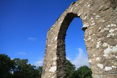 Ancient stone archway Royalty Free Stock Photography
