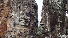 Ancient Stone Bayon Tample,  Angkor Thom. Khmers culture, Temple of Angkor, Cambodia, Boyon Tample, Ancient Khmers architecture, Khmers heritage Royalty Free Stock Images