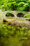 Ancient stone bridge Royalty Free Stock Photo