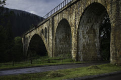 Ancient stone bridge Royalty Free Stock Images
