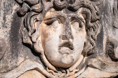 An ancient stone carving. Royalty Free Stock Image