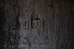 Ancient stone carving Royalty Free Stock Photos