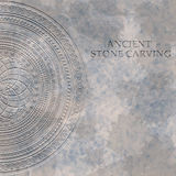 Ancient stone carving geometric pattern/ornament Royalty Free Stock Photo