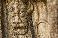 Ancient Stone Carving Stock Photo