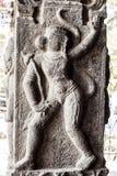 Ancient stone carvings in Varadaraja Temple Stock Photos