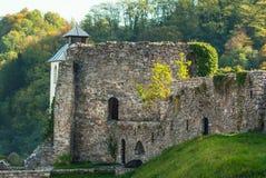 Ancient stone castle Stock Photo