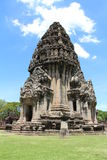 Ancient stone castle in Thailand. Phimai historical park - ancient stone castle in Thailand Royalty Free Stock Photo
