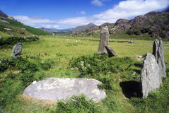 Ancient stone circle in Cork, Ireland Stock Photography