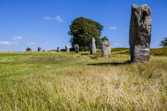 Ancient Stone circle Stock Images