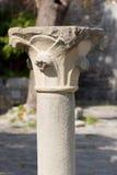 Ancient Stone Column - Portovenere Italy Royalty Free Stock Image
