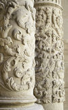 Ancient stone columns Stock Images