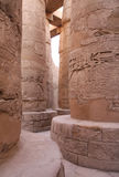 Ancient stone columns in Egypt Royalty Free Stock Photo