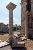 Ancient Stone Columns Stock Photo