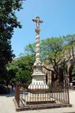 Ancient Stone Cross Stock Photography