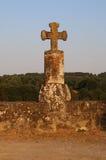 Ancient Stone Cross Stock Photo