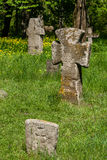 Ancient stone crosses Royalty Free Stock Image