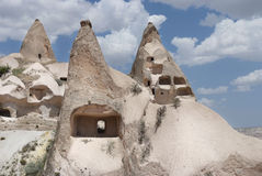 Ancient stone dwellings Royalty Free Stock Photography